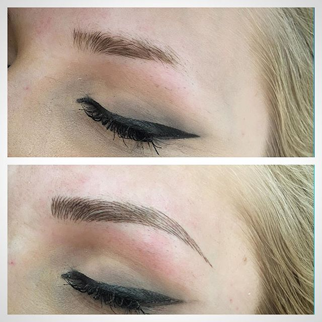 microblading before and after 2